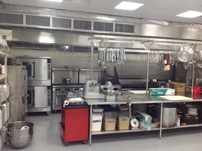 Amici's New Location - Kitchen