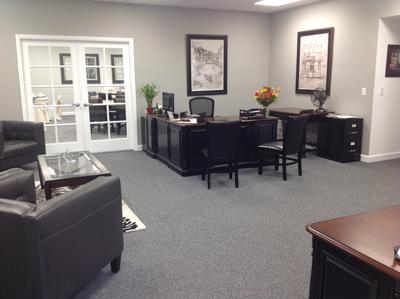 Amici's New Location - Reception Area