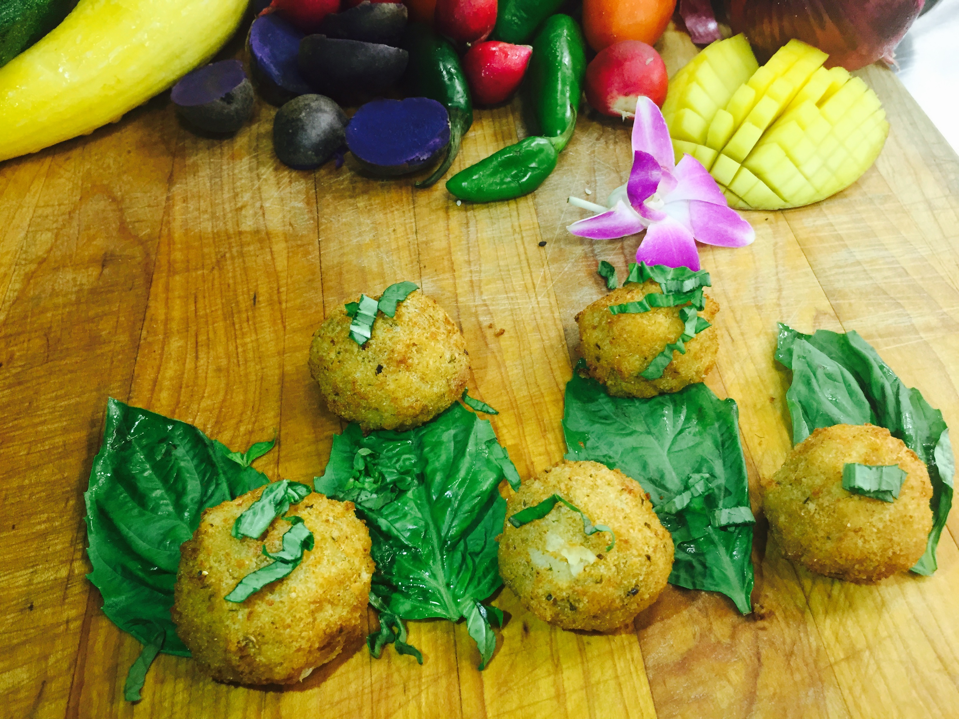 Croquettes Filled with Serrano Ham and Manchego Cheese