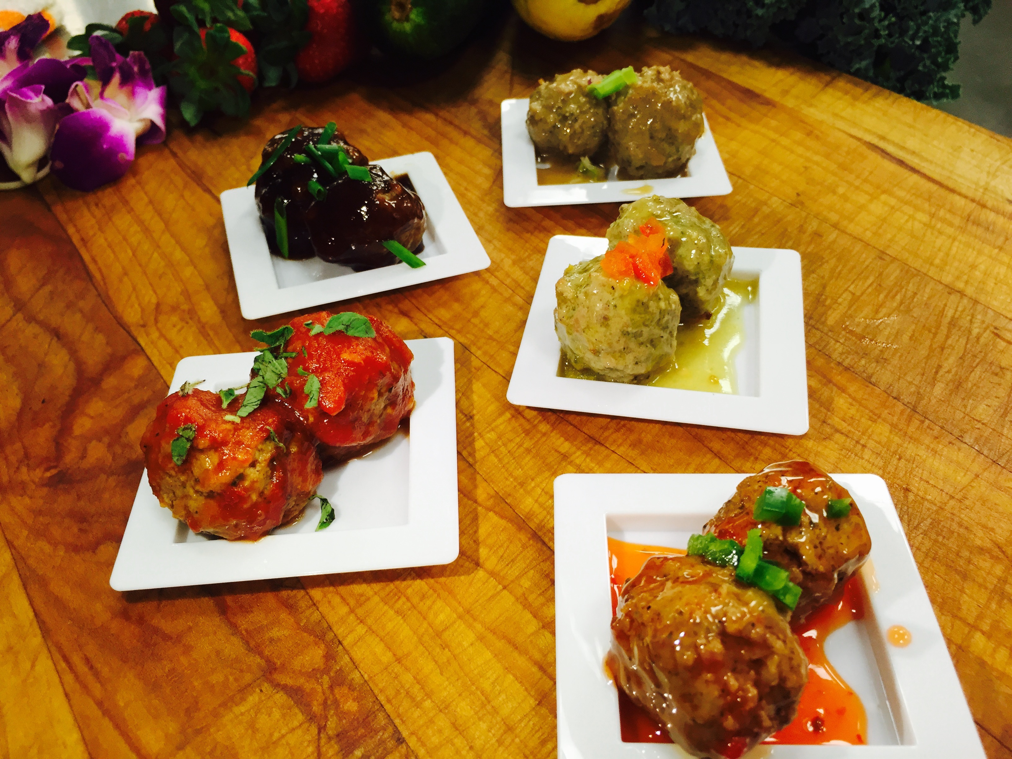 Hand Rolled Meatballs