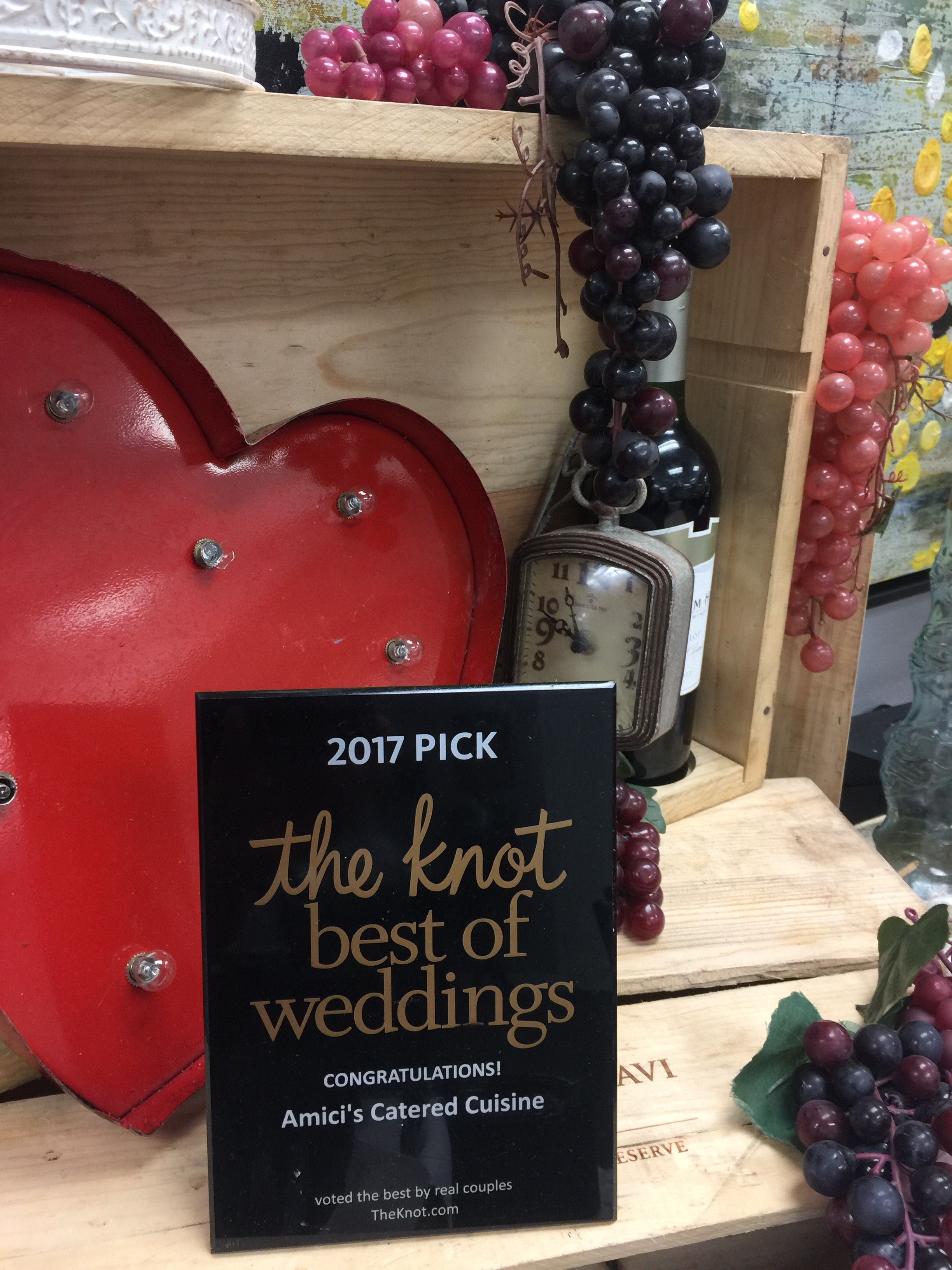 The Knot - Best of Weddings Award 2017