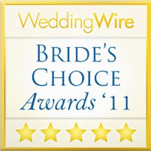 Wedding Wire - Brides Choice Award, 2011