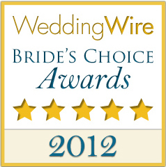 Wedding Wire - Brides Choice Award, 2012
