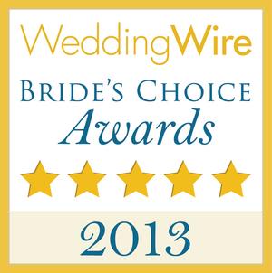 Wedding Wire - Brides Choice Award, 2013