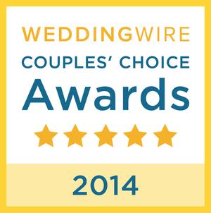 Wedding Wire - Couples Choice Award, 2014