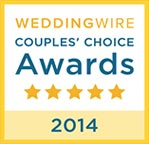 WeddingWire Couples' Choice 2014