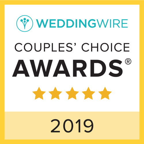 WeddingWire Couples' Choice 2017