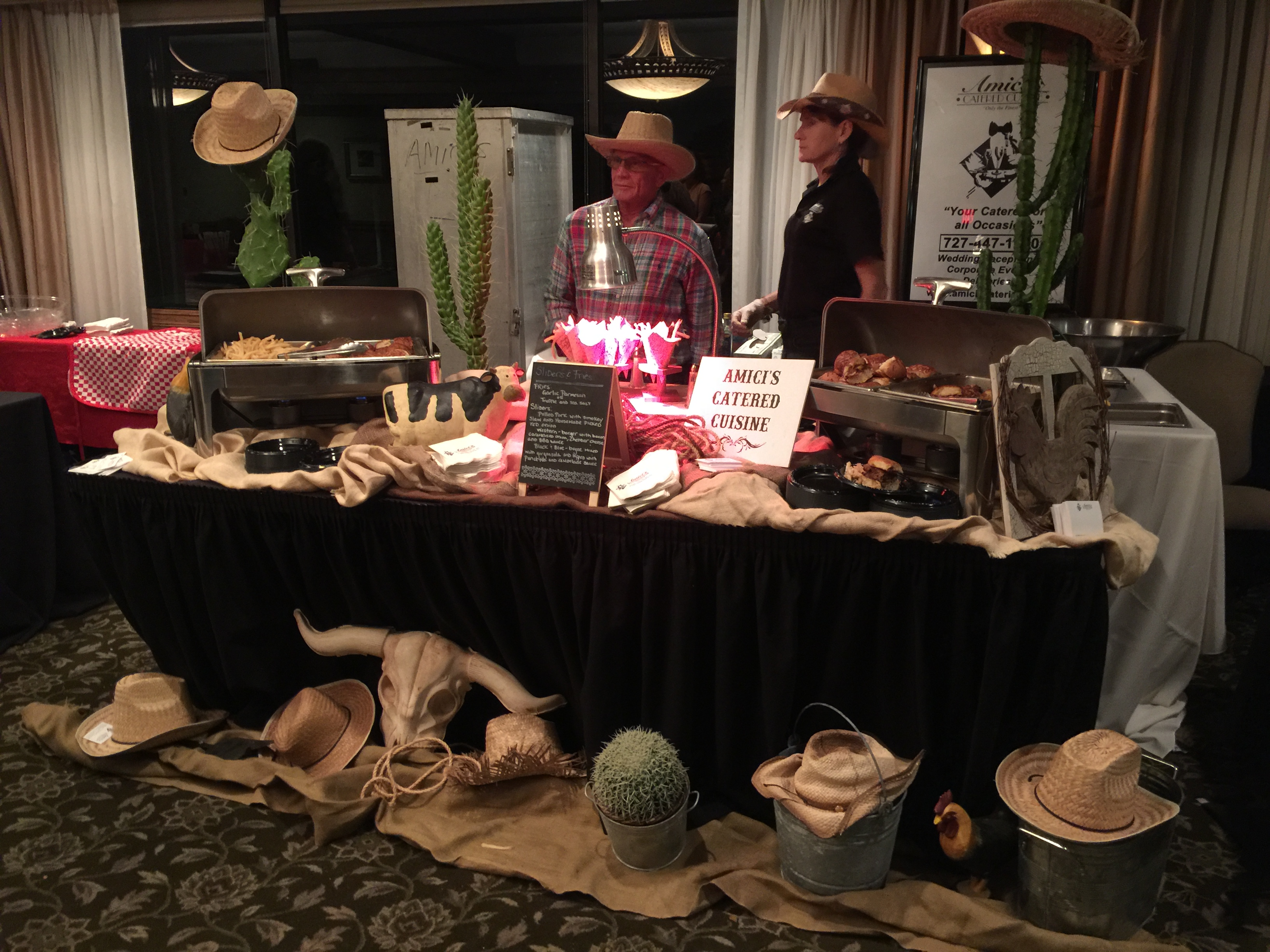 Amicis Setup at a Coral Event