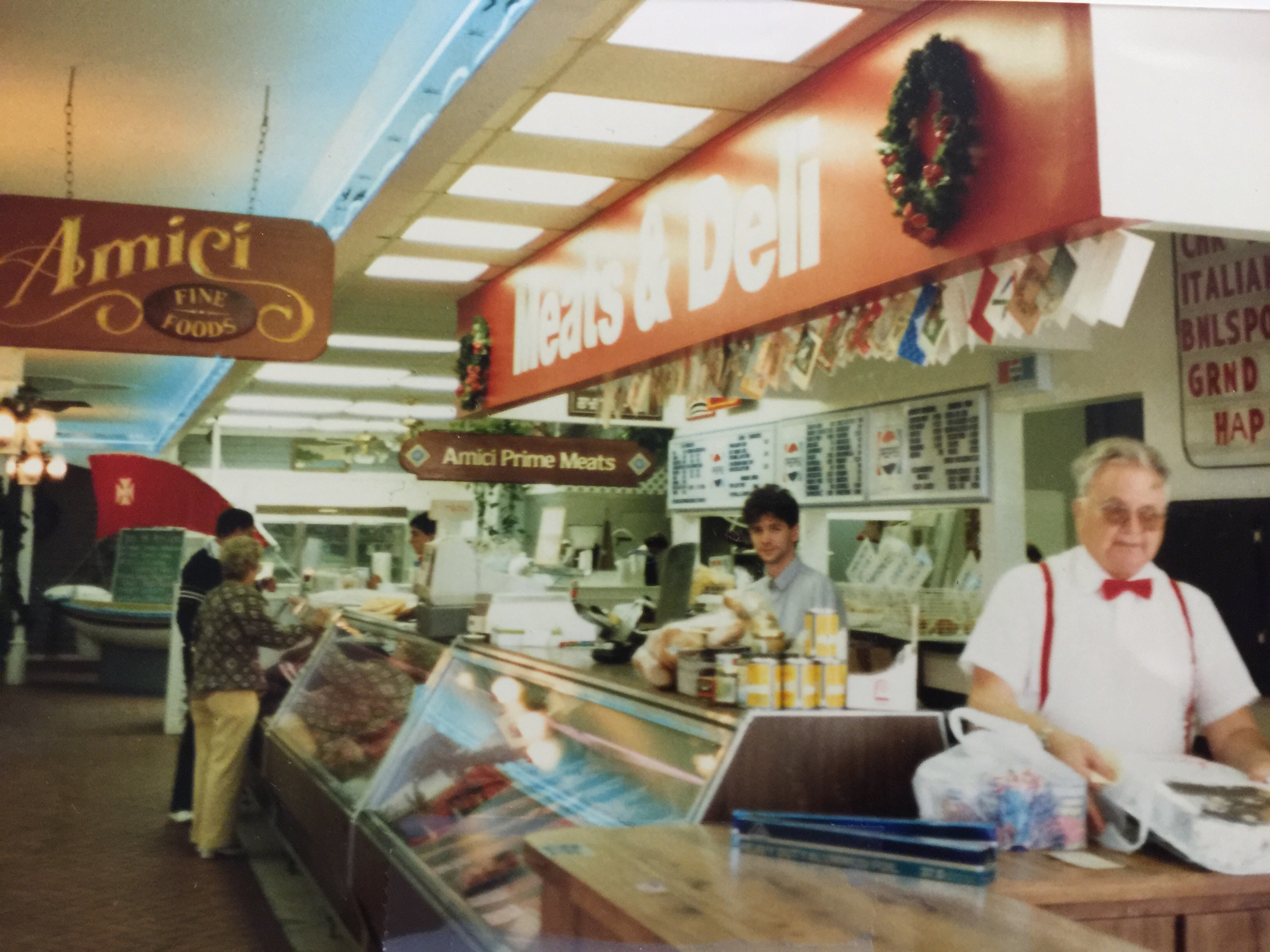 Amici's Butcher Shop from the 1980's