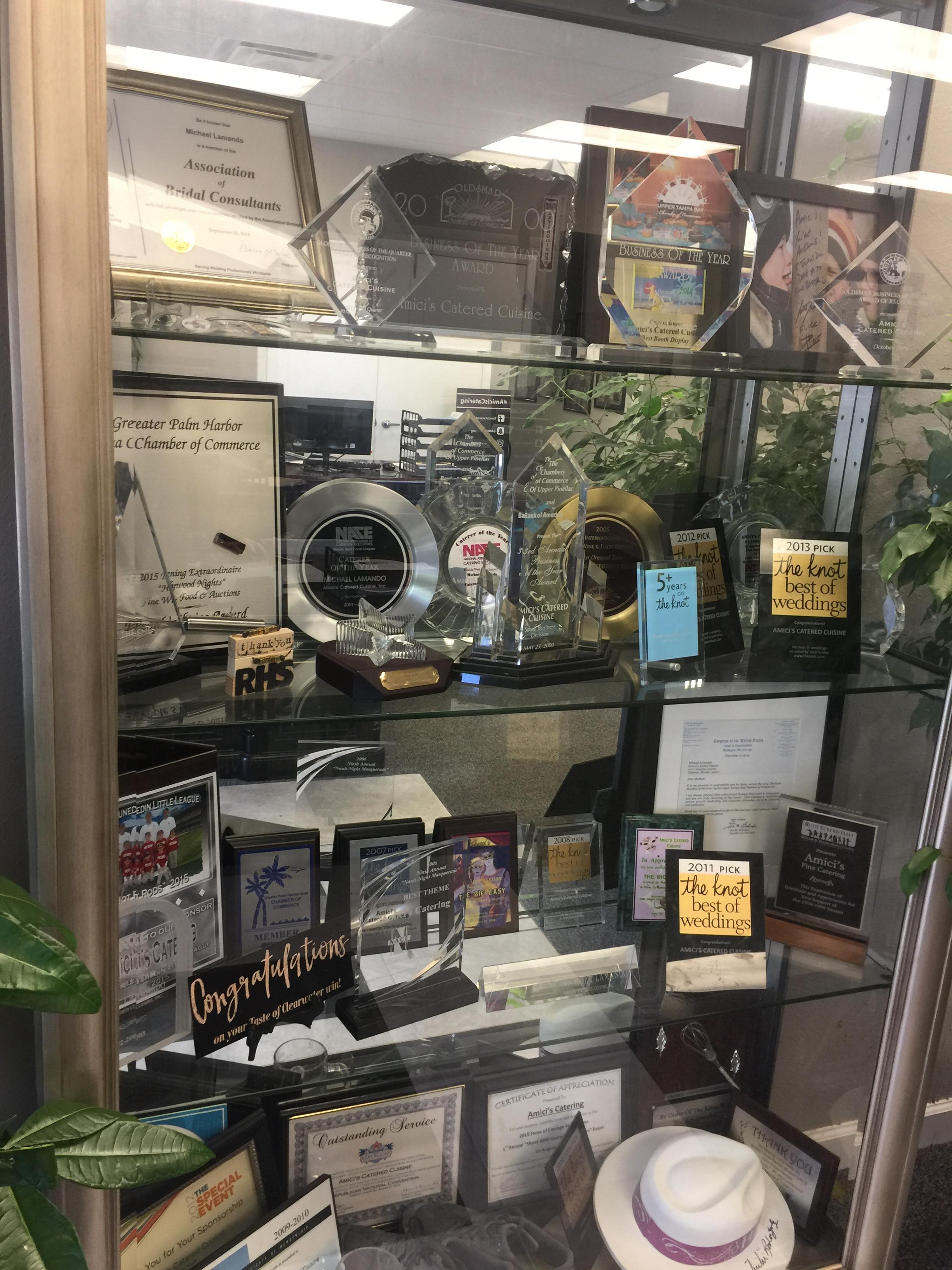 Amici's Catering Award Showcase
