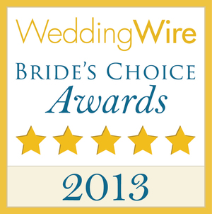 Wedding Wire - Brides Choice Award, 2013