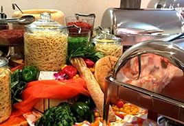 Pasta Bar Display