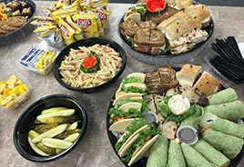Platter of Finger Foods