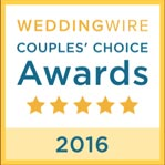 WeddingWire Couples' Choice 2016