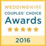 WeddingWire Couples' Choice 2016